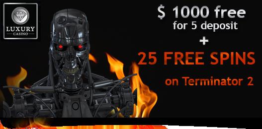 25 Free Spins Bonus From Luxury Casino Nodepositbonus Org