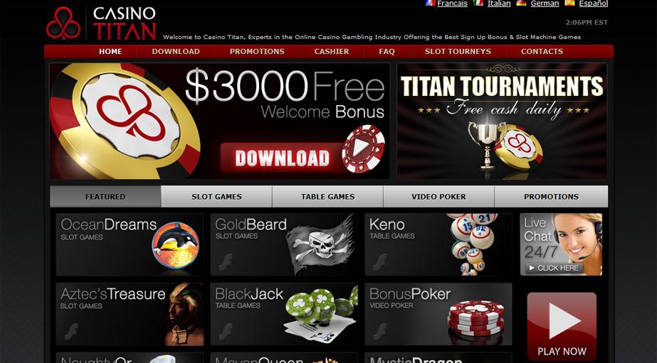 titan casino bonus code no deposit 2016