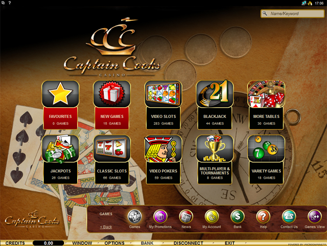 Captain casino.us cook restaurants casino