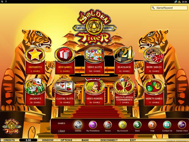 Golden Tiger Casino « NoDepositBonus ORG