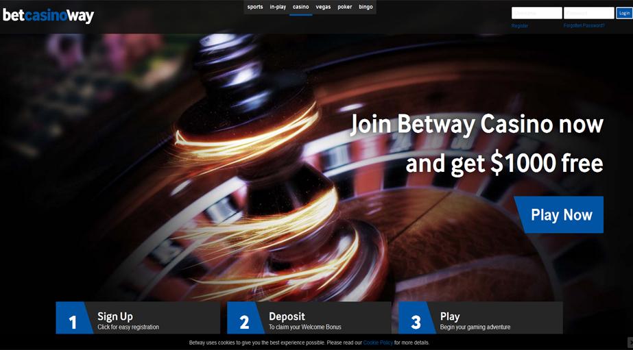 Betway Casino No Deposit Bonus Code