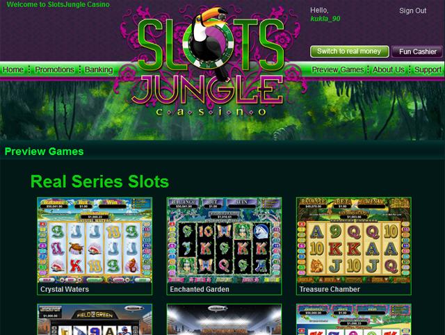 Slots Jungle Casino No Deposit Bonus